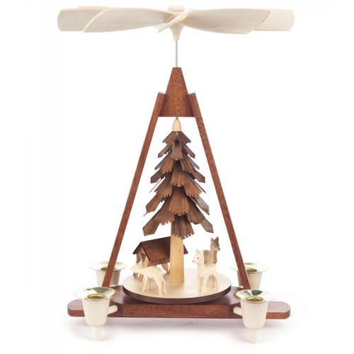 Chip Tree Deer Pyramid PYD085X043