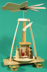 Christmas German Aframe Nativity Pyramid