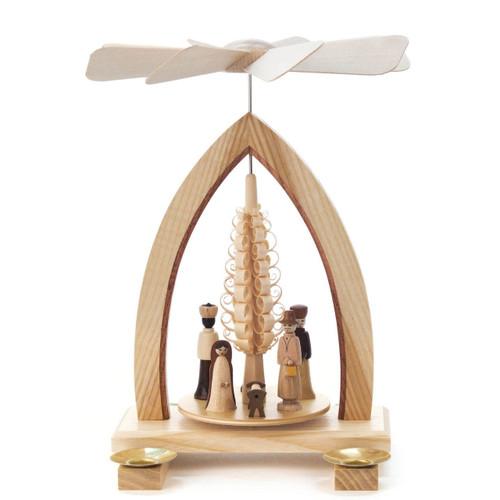 Christmas Nativity German Pyramid