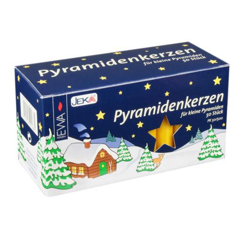 German Pyramid Candles Medium Honey 14mm