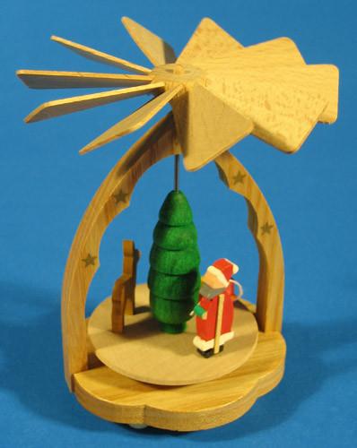 Mini Pyramid Santa Reindeer