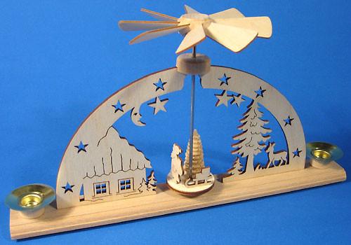 Mini Pyramid Schwibbogen Candle Arch