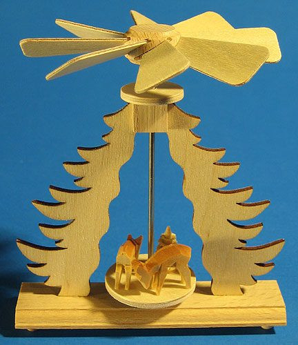 Mini Tree Framed Deer Pyramid