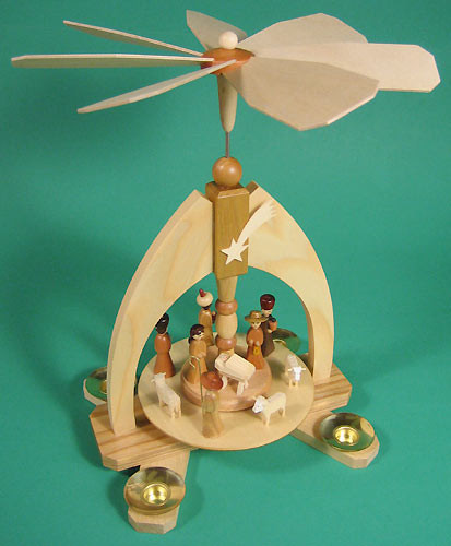 Nativity Arch Christmas Pyramid