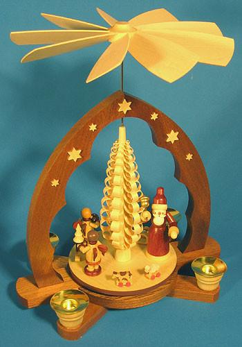 Santa Angel Helpers Pyramid