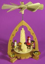 Santa Snowman Pyramid