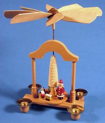 Santa Toys Pyramid 23cm