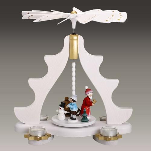 Santa Tree Winter Pyramid