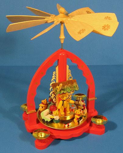 Teddy Bears Toys German Carousel Pyramid