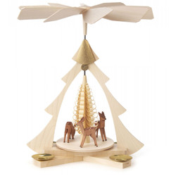 Tree Frame Deer Pyramid