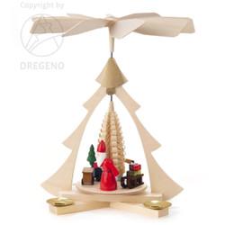 Tree Frame Santa Pyramid