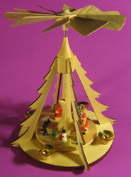 Tree Frame Santa Pyramid