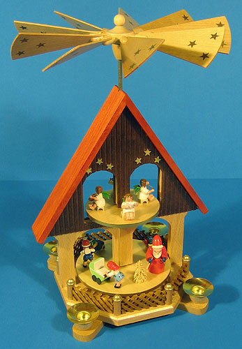 Two Level Holiday House Pyramid