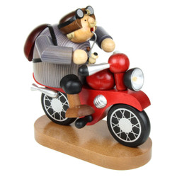 Motorcycle Biker German Incense Smoker SMK215X94