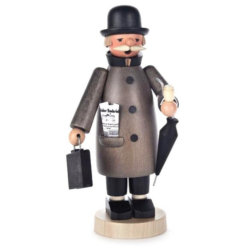 Businessman German Incense Smoker