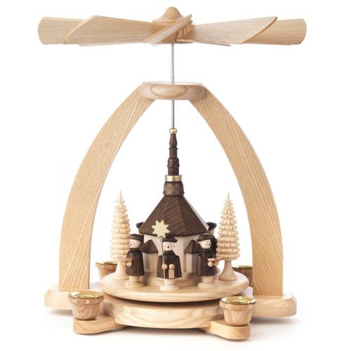Carolers Church Pyramid