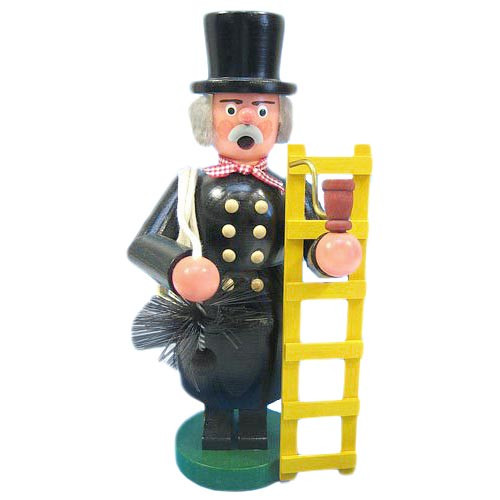 Chimney Sweep Yellow Ladder German Smoker