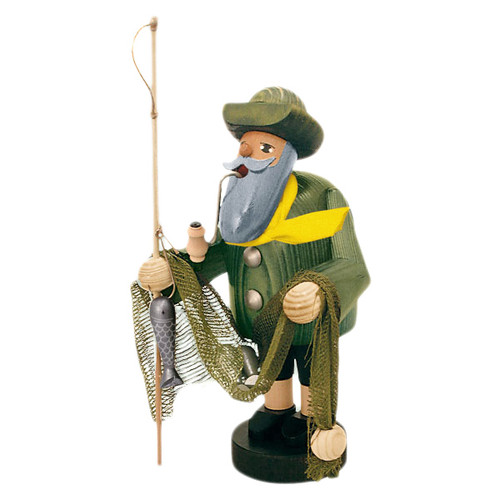 Fisherman with Net German Smoker