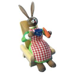Girl Bunny Rabbit German Smoker