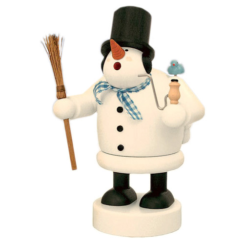 Happy Snowman German Smoker