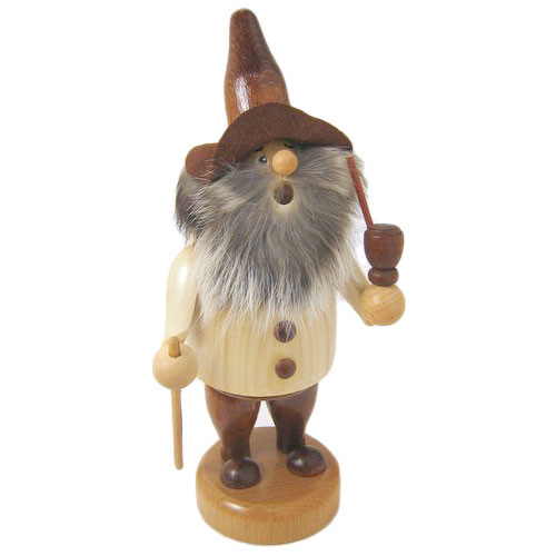 Jolly Wood Gnome Incense German Smoker