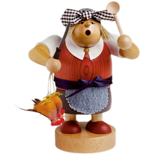 Kitchen Cook Lady German Incense Smoker
