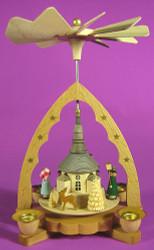 Lantern Children Parade Seiffen Church Pyramid