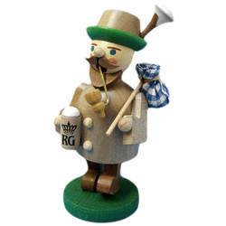Mini Gray Bavarian German Smoker
