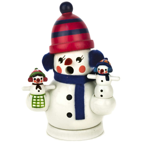 Mini Jolly Snowman German Smoker