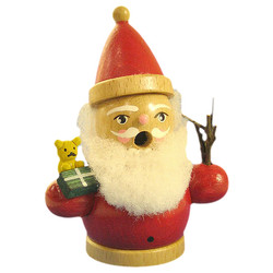 Mini Santa Toy German Smoker