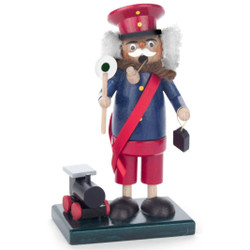 Mini Train Conductor Incense German Smoker