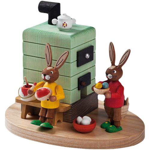 Oven Bunny Rabbit German Smoker
