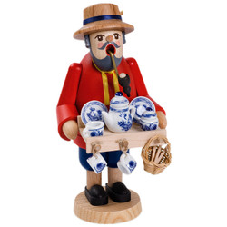 Porcelain Vendor German Smoker