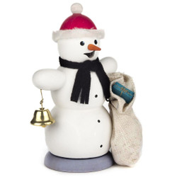 Santa Hat Snowman German Smoker SMD146X1267X10