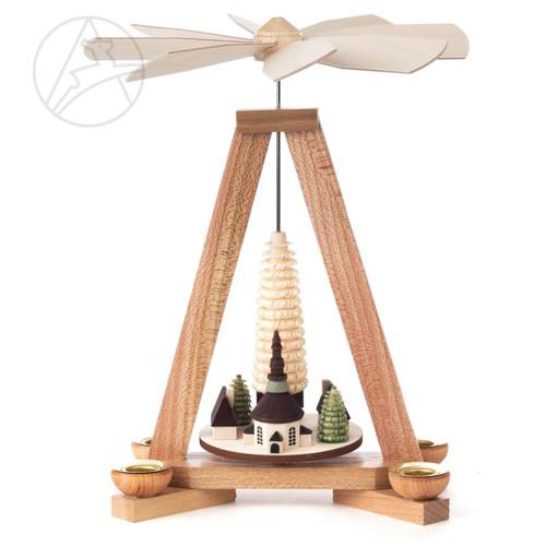 Seiffen Village German Pyramid PYD085X157