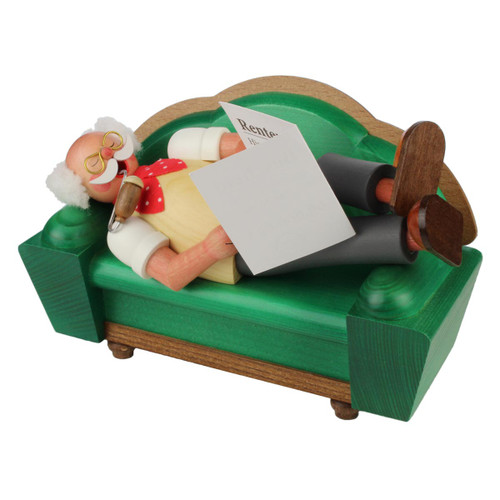 Sleeping Opa German Incense Smoker SMD146X129B