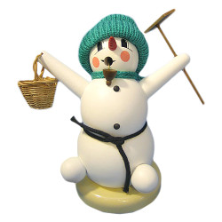 Snowman Basket Rake German Smoker