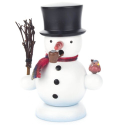 Snowman Black Hat German Smoker