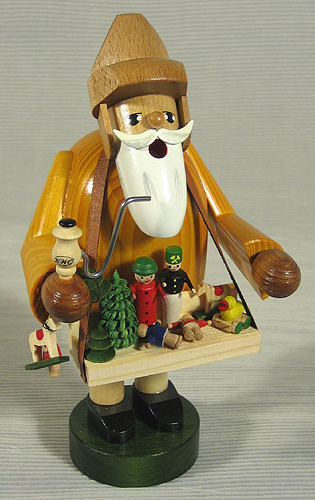 Toy Trader German Smoker Christkindl Markt German Gifts