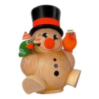 Mini Tumbled Snowman German Smoker
