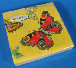 Butterfly Paper German Napkins
