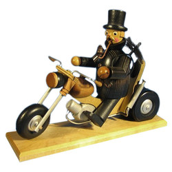 Chimney Sweep Motorcycle German Smoker