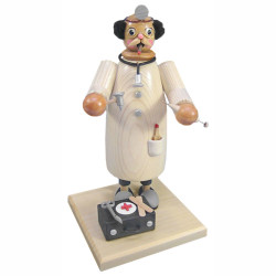 Doctor Making House Calls German Cone Incense Smoker