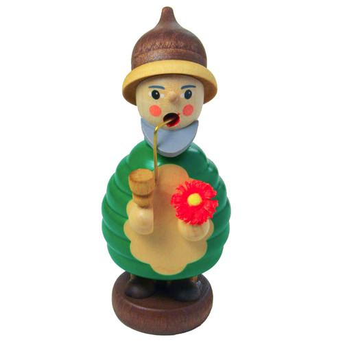 Mini Gnome Flower German Incense Smoker SMR263X08