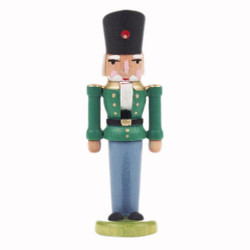 Mini Green German Nutcracker