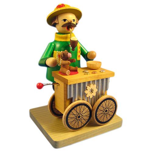 Music Box Organ Player German Smoker
