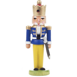 Nutcracker King Ornament Blue