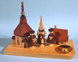 Seiffen Village Carolers Candleholder