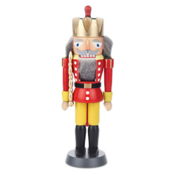 Small Red King German Nutcracker