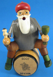 Wine Dealer Barrel Smoker